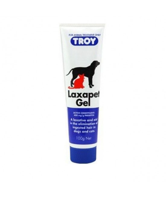 Laxapet Gel For Hairballs In Dogs And Cats 100gm