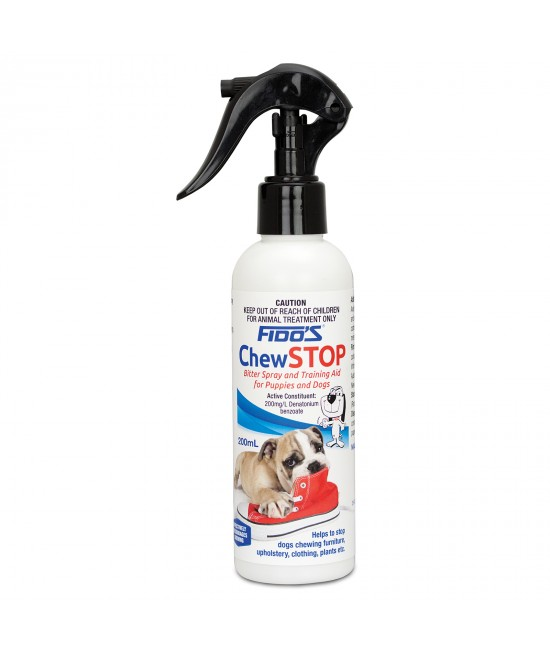 Fidos Chew Stop Bitter Spray For Puppy And Dogs 200ml