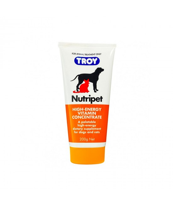 Troy Nutripet High Energy Vitamin Concentrate For Dogs And Cats 200gm