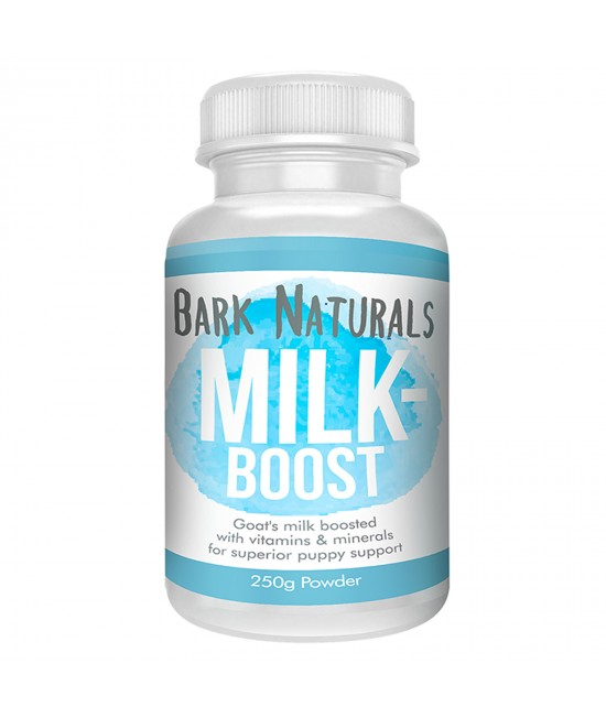 Bark Naturals Milk Boost Goat Milk Powder New Born Puppies For Dogs 250gm