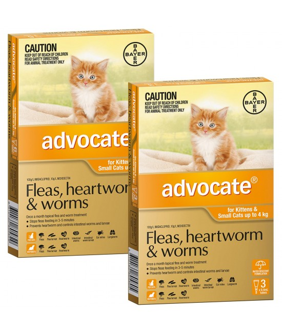 Advocate For Cats And Kittens Small Up To 4kg 9 Pack