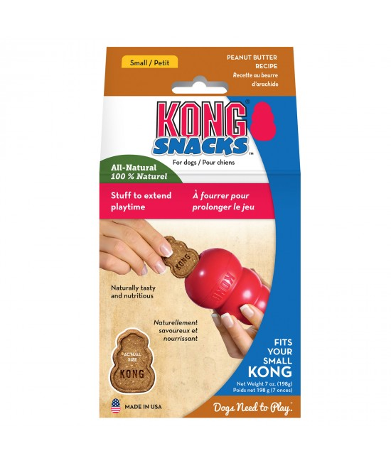 KONG Peanut Butter Snacks Stuffin Treats Mini Fits Small KONG For Dogs 200gm