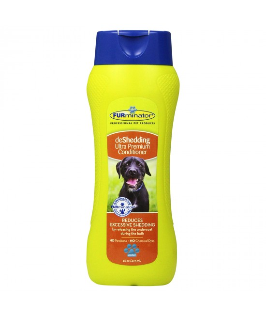 Furminator Ultra Premium DeShedding Conditioner For Dogs 473ml