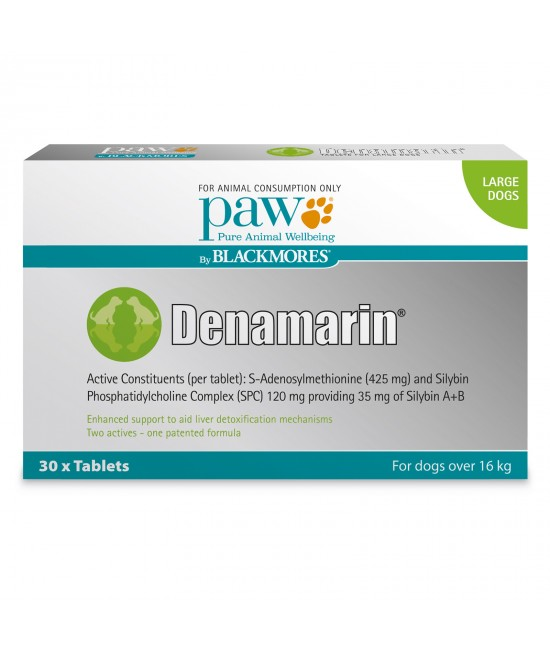 PAW By Blackmores Denamarin 425mg For Large Dogs Over 16kg 30 Tablets