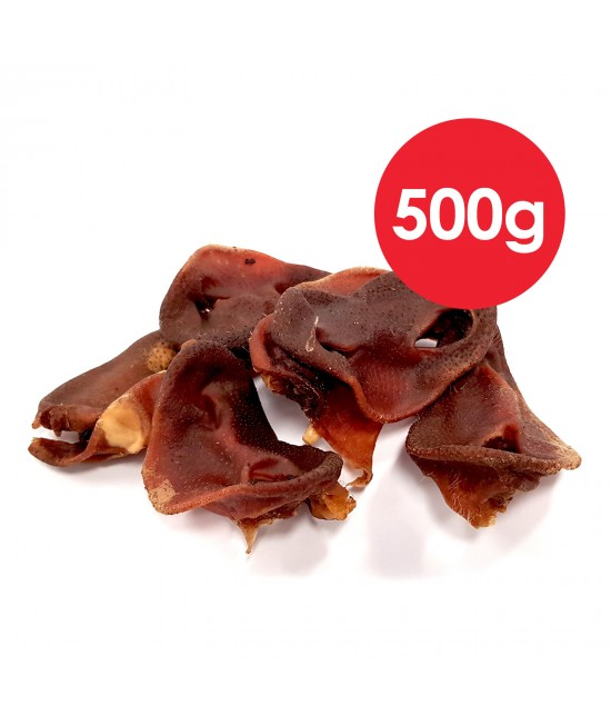 Petz Tucker Pig Snout Treat For Dogs 500g