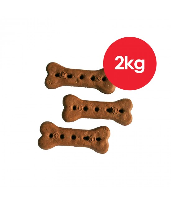 Australian Pettreats Baked Biscuits Beef Treats For Dogs 1kg x 2 Pack