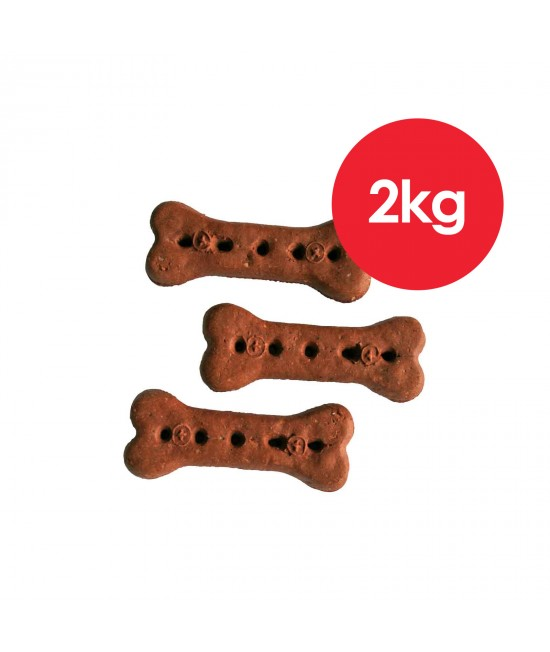 Australian Pettreats Baked Biscuits Kangaroo Treats For Dogs 1kg x 2 Pack
