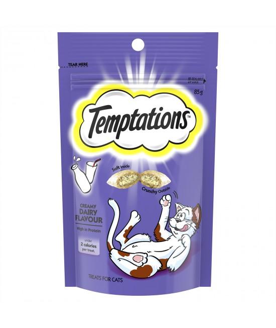 Temptations Creamy Dairy Treats For Cats 85gm