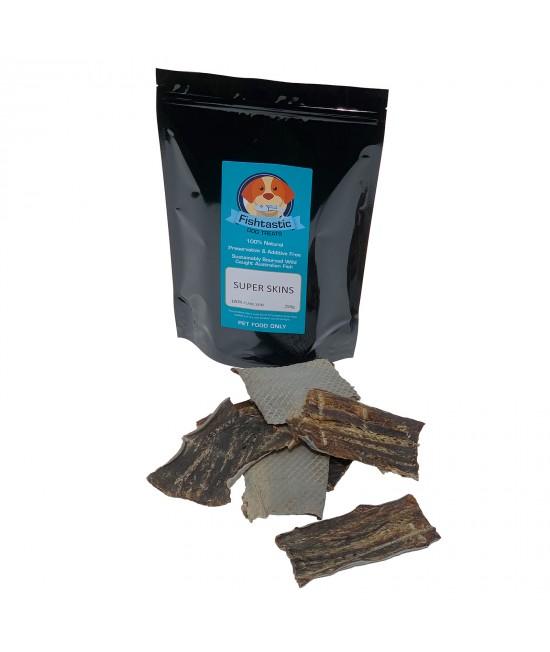 Fishtastic Super Skin Dried Fish Chew Treats For Dogs 250gm