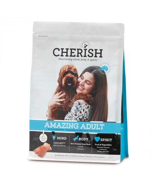 Cherish Amazing Adult Salmon And Chicken Dry Dog Food 3kg