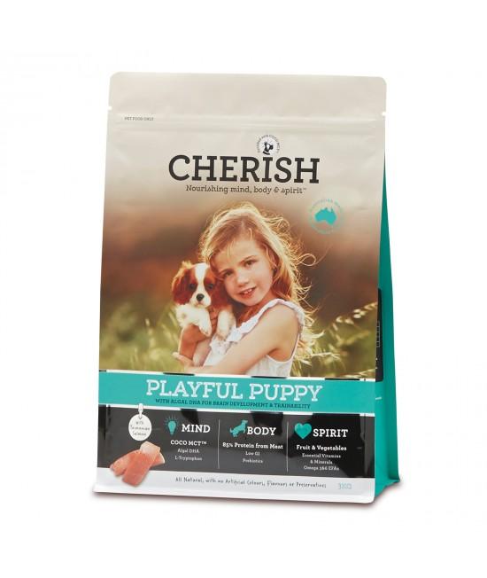 Cherish Playful Puppy Salmon And Chicken Dry Dog Food 3kg