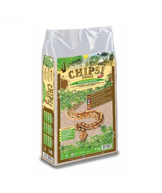 Chipsi Snake Softwood Litter Nest Bedding For Reptiles 5kg