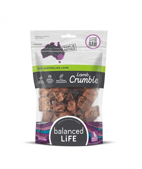 Balanced Life Lamb Crumble Dried Treats For Dogs 45gm