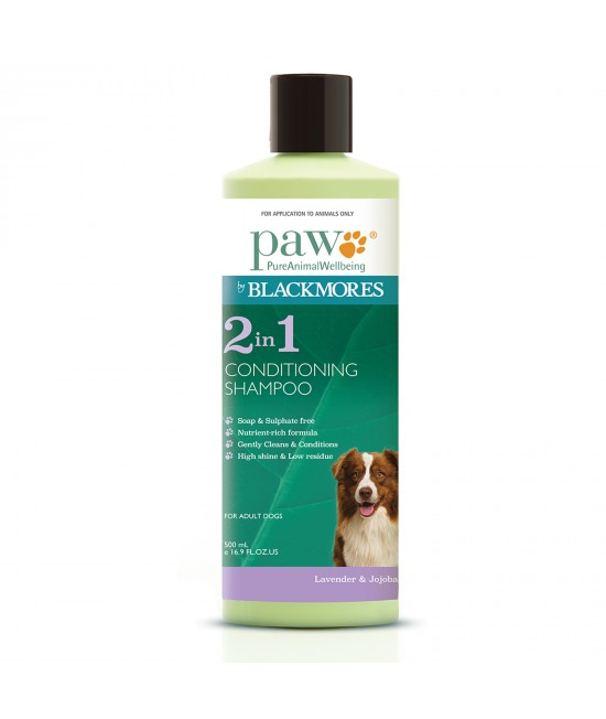 PAW By Blackmores 2 in 1 Conditioning Shampoo 500ml