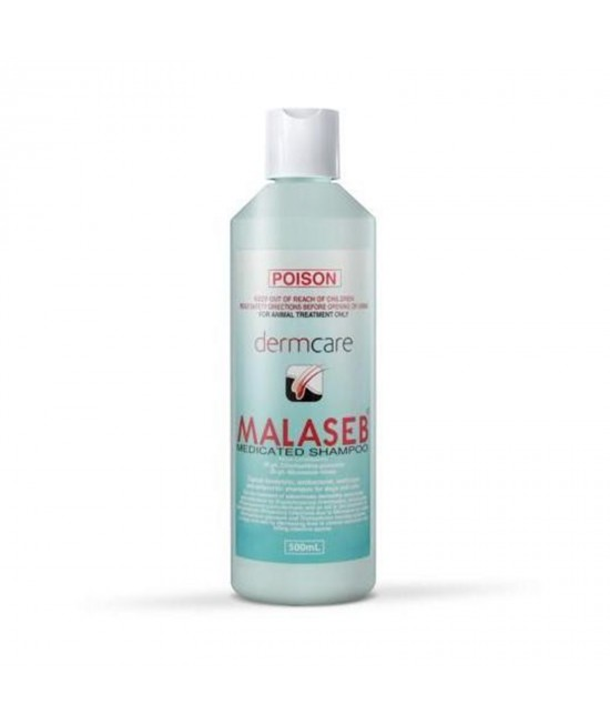 Malaseb Medicated Shampoo For Dogs and Cats 500ml